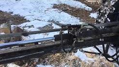 Traktorikäyttöinen hydraulihalkoja, omavalmiste. Osa 2