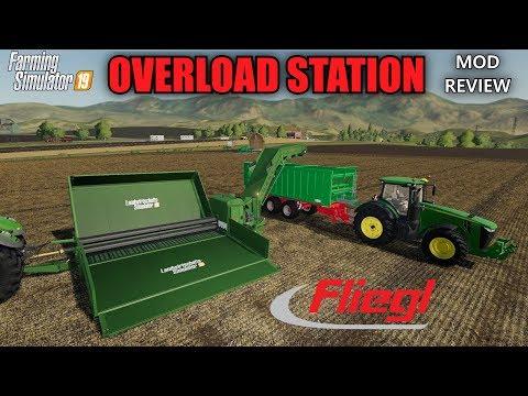 Farming Simulator 19 - Fliegl Overload Station