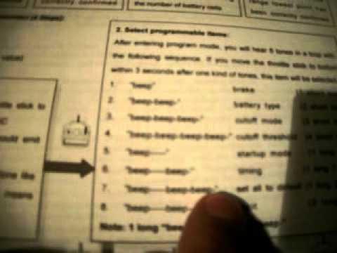 hobbywing esc programming card manual