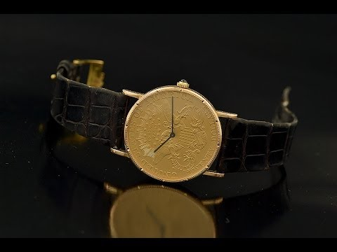 a949b23c95dd7 Corum  20 Gold Coin Watch Authentic - YouTube