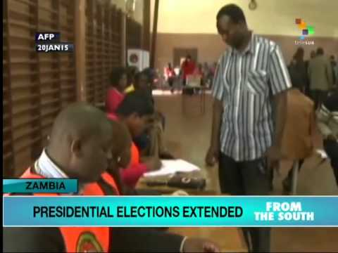 Zambian elections extended for 2nd day due to weather conditions