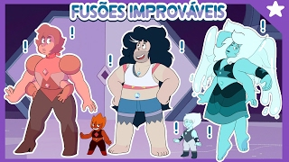 Gambar cover Impossible and unlikely fusions (Steven Universe) [Feat. Ice and other gemsonas]