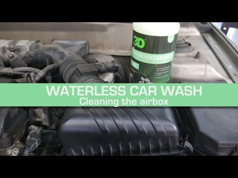 Total Car Detail - Cleaning & Repair of the Air Cleaner With Donald Williams