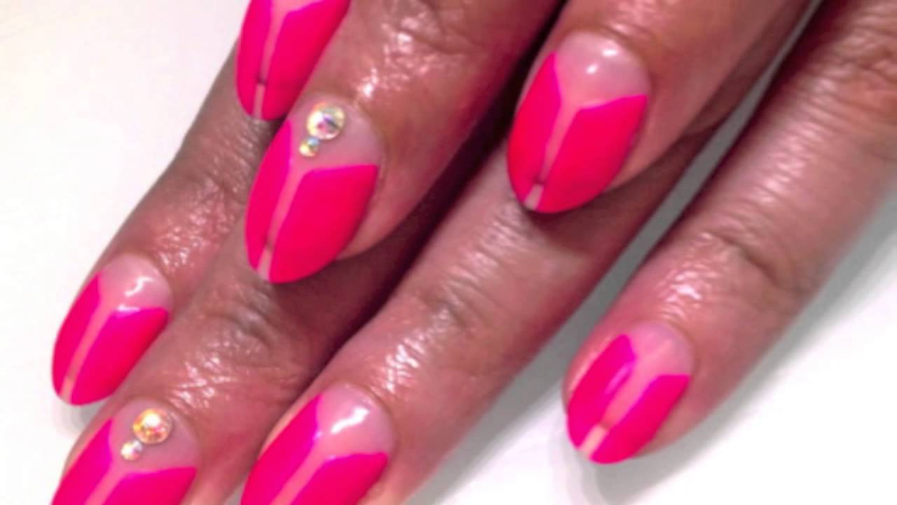 Calgel nail art summer fall 2012 youtube prinsesfo Gallery