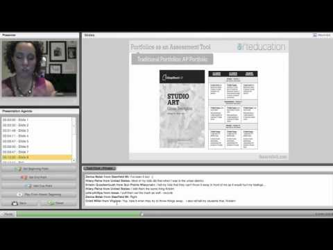 AOE Workshop: Using Digital and Traditional Portfolios as an Assessment Tool