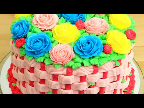 Flower Cake Decorating With Piping Tips By Cakes StepbyStep