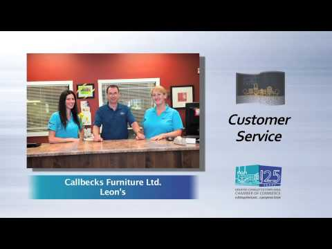 2012 Excellence in Customer Service Finalist Callbecks Furniture Ltd.