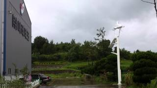 (주)미래테크 소형 풍력 발전기(볼라벤 태풍 소형풍력)