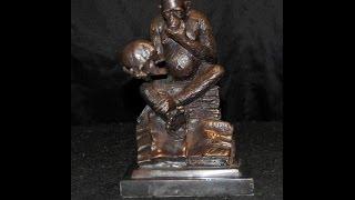 Bronze Monkey Skull Statue Casting