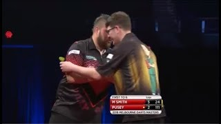 2018 Melbourne Darts Masters Round 1 M.Smith vs Pusey