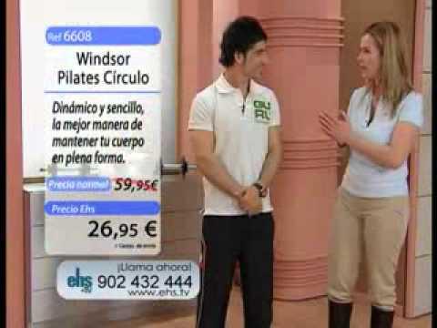 Publicidad: Círculo de ejercicios Winsor Pilates