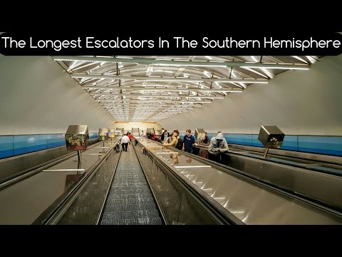Melbourne Trains Vlog 26: The Longest Escalators In The Southern Hemisphere