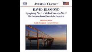 David Diamond (1915-2005) Symphony No 1- I Allegro moderato con energia