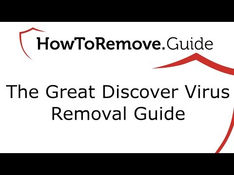 Uninstall Great Discover Virus