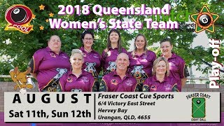 2018 QEBF State Women's Team Play-off - Sunday 3:30PM