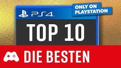TOP 10 ► Die besten EXKLUSIVEN Spiele für die PS4 ► Games nur auf der Playstation 4
