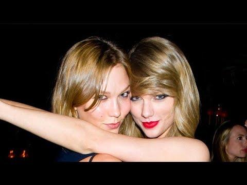 Todo indica que las cosas entre Taylor Swift y Karlie Kloss no van del todo bien