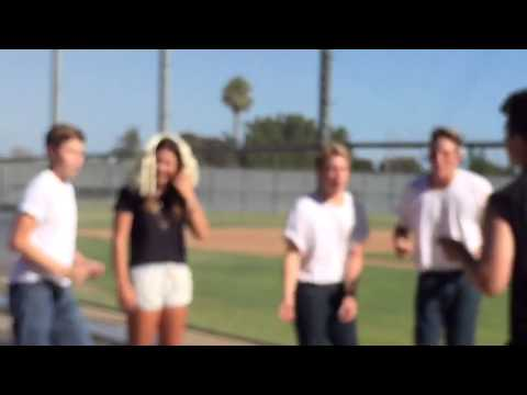 Sandy And Danny Grease Homecoming Proposal Youtube