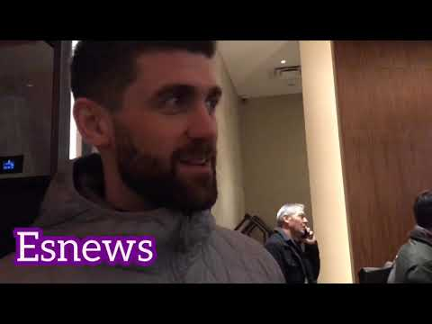 Rocky Fielding what he saw in faceoff with canelo