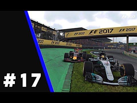 F1 2017 - Career Mode #17 - FORECAST SAID NO RAIN!?! - Brazil