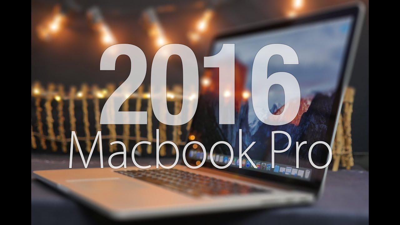 2016 Macbook Pro - Top 20 Features Wishlist!