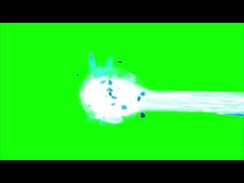 Green Screen Onda Kamehameha / super power effects 2