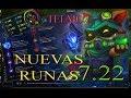 TEEMO: NUEVAS RUNAS 7.22