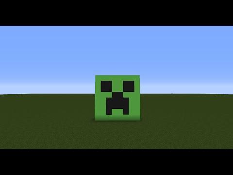 Minecraft creeper face emoji