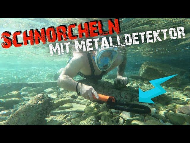Meine erste Unterwasser Schatzsuche mit dem Quest SCUBA TECTOR PRO Metalldetektor