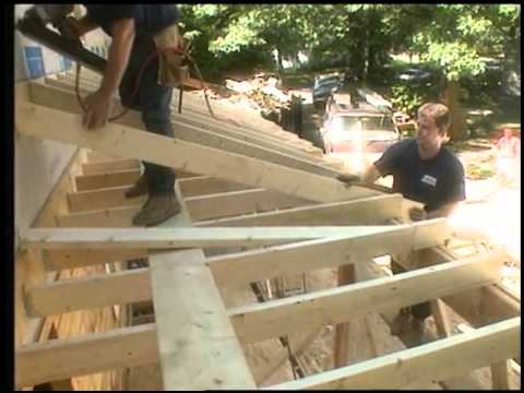Framing the Porch Roof  YouTube