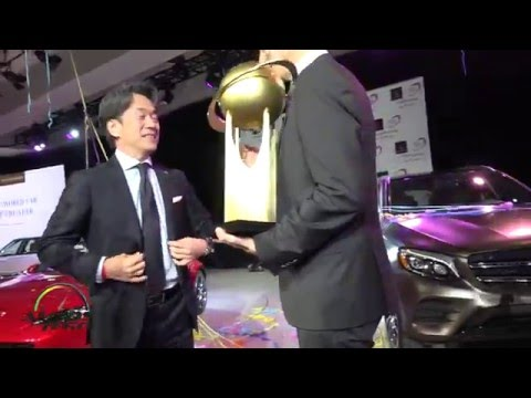 2016 World Car of the Year Award Winners at the New York Auto Show