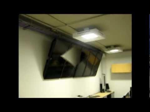 Soporte de techo para televisores led lcd plasma - Soportes de tv para techo ...