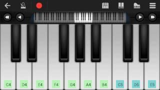 how to play Tamil piano video ennodu Nee irundhaal