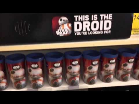 Star Wars The Force Awakens: Force Friday Toy Hunt (Friday September 4th, 2015)