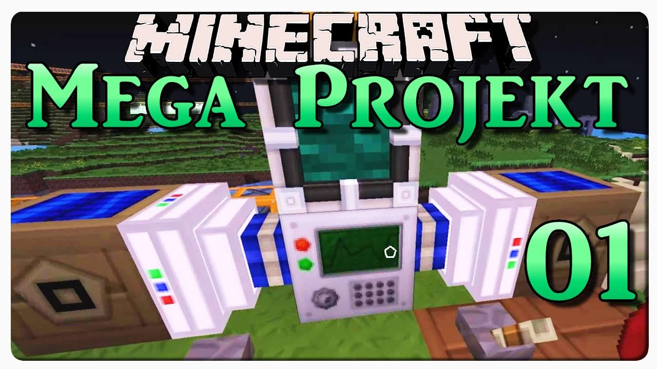 Minecraft mega projekt 01 meine maschinen debitor - Minecraft projekte ...