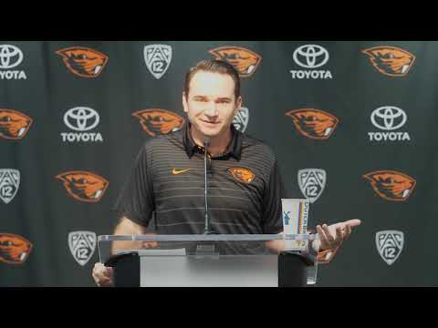Oregon State Beavers - Jonathan Smith talks Cal, trick plays and bye week!!