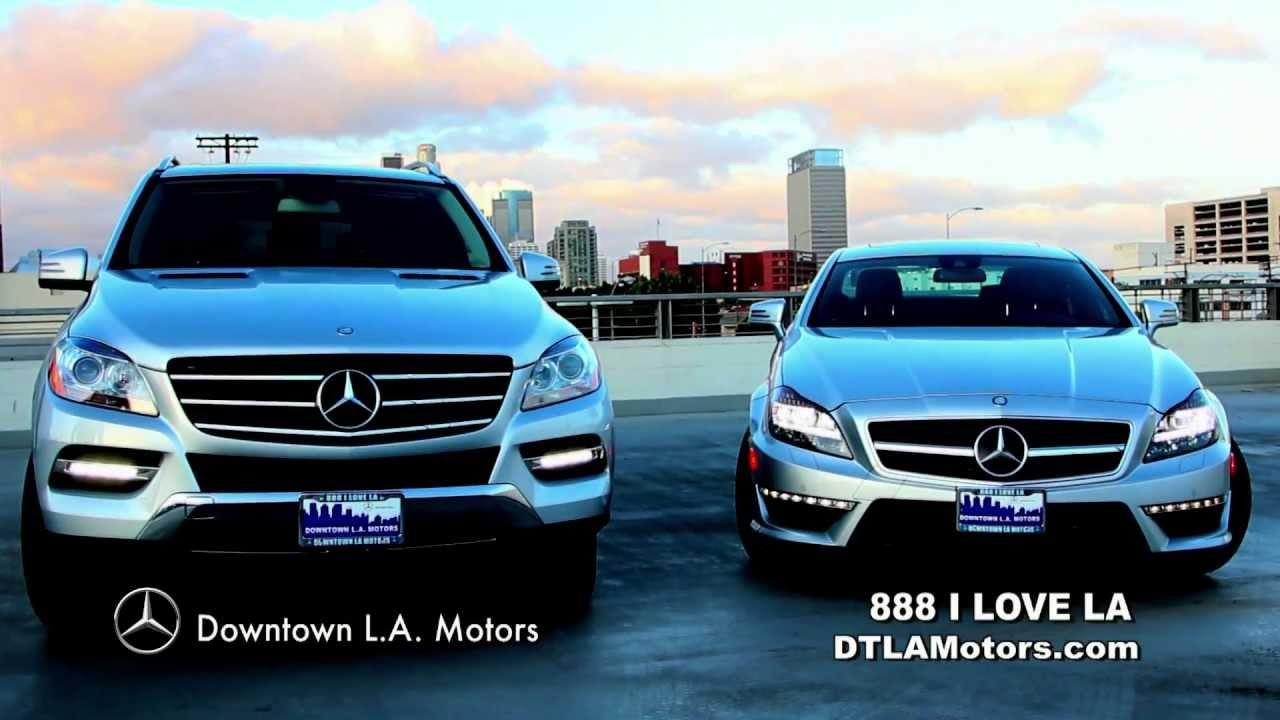 Downtown LA Motors  Mercedes Benz Commercial