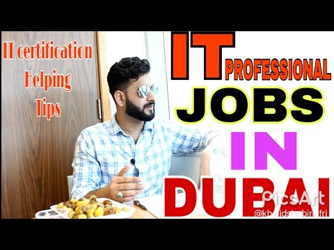 IT PROFESSIONAL JOBS HUNTING TIPS IN DUBAI | HOW TO GET IT P