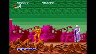 Altered Beast (Sega Mega Drive / Genesis) - (Longplay | Hardest Difficulty)