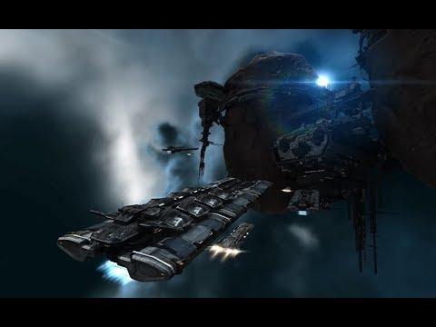 Eve Online Alpha Clone Mining In A Battleship