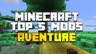 Minecraft : Top 5 MODS AVENTURE ! (1.7.10)