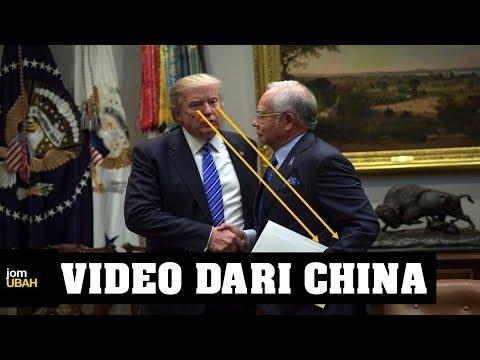 5 benda Mahathir cakap pasal Najib dan Trump (Video dari China)