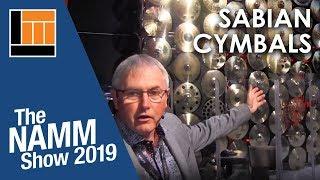 L&M @ NAMM 2019: Sabian Cymbals