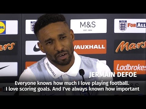 Jermain Defoe - 'I'm Delighted To Be Back With England'