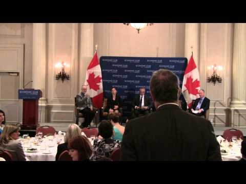 Working with Mental Health Illnesses, Economic Club of Canada (Part 2 of 2)