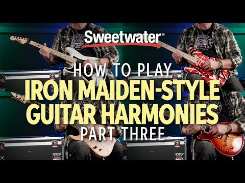 How To Play Iron Maiden-Style Guitar Harmonies - Part 3