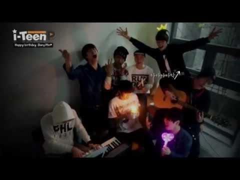 [i-Teen PLAY] Happy birthday, Dong Min♥