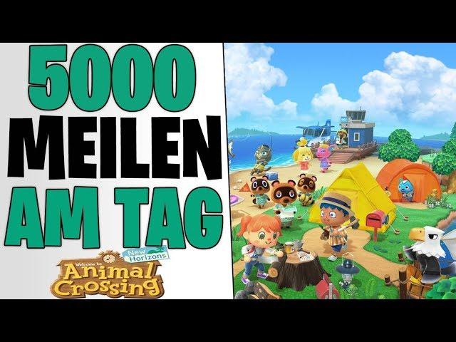 EASY 5000 MEILEN AM TAG - Beste Farming Methoden Erklärt | Animal Crossing New Horizons deutsch