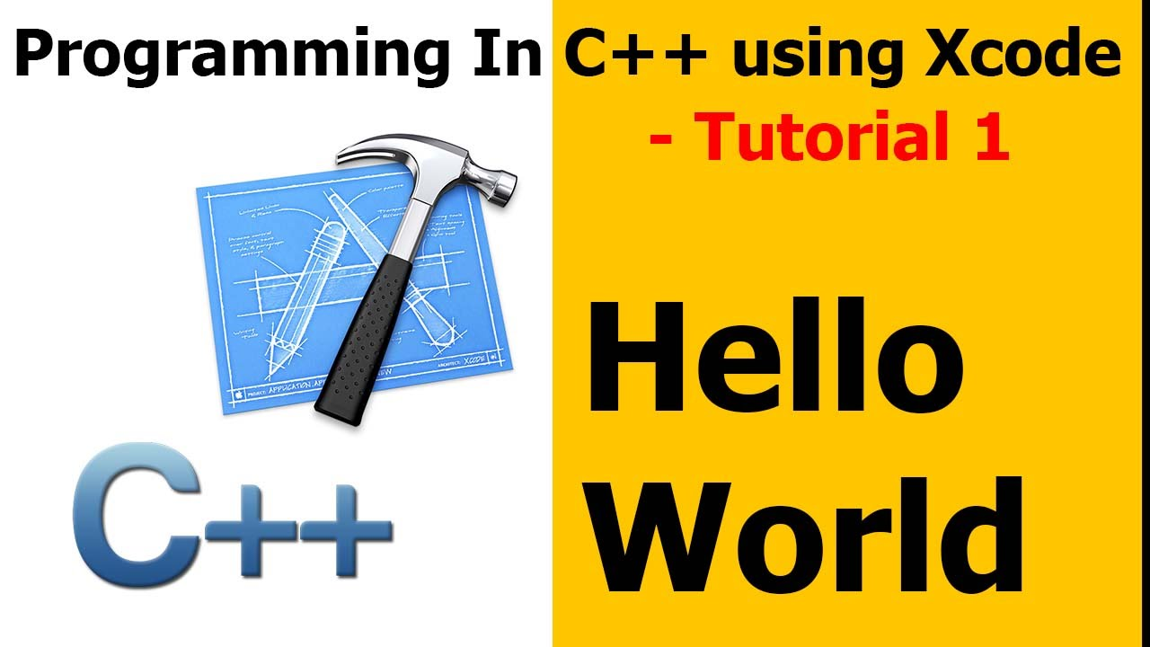 Programming in C++ using Xcode || Tutorials
