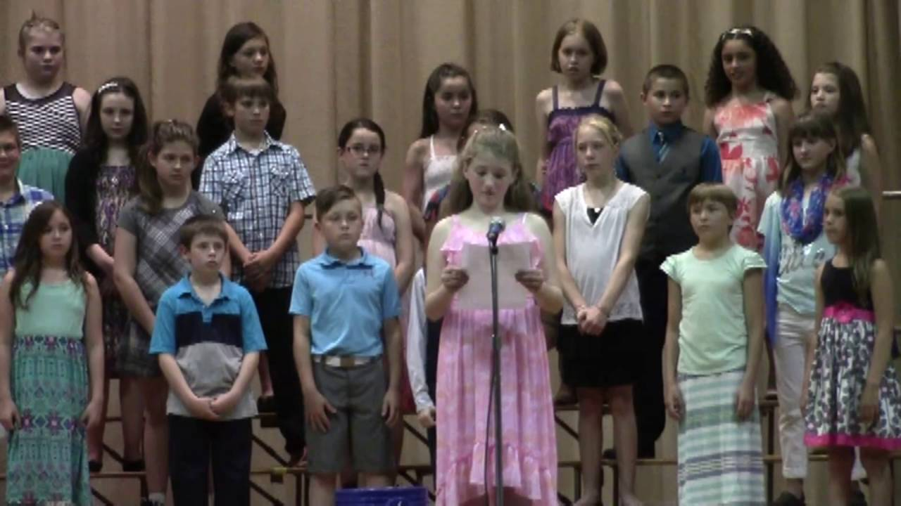 Mooers Elementary Spring Program  6-2-16